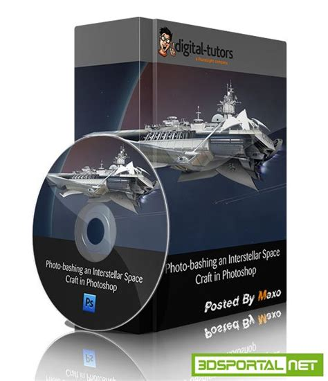 Photo Bashing An Interstellar Space Craft In Photoshop 187 3ds Portal Cg Resources For Artists Adobe Sts Templates