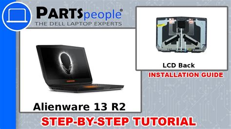 Lcd Ad Max R2 dell alienware 13 r2 p56g002 lcd back how to