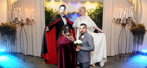 opera themes gallery phantom themed wedding package