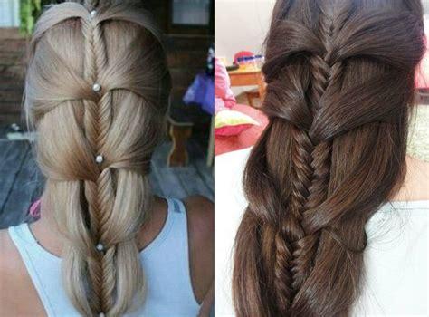 best fishbone hairstyles fishbone hairstyle immodell net