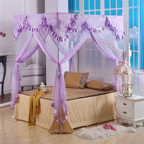 luxury canopy bed curtains romantic home palace curtains bedroom mosquito net luxury