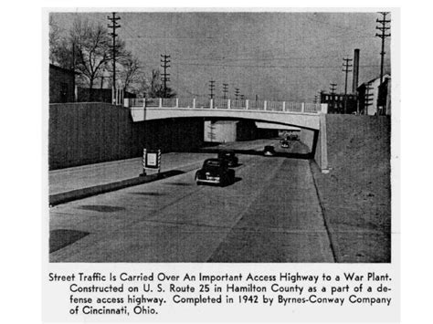 ohio pattern works mill creek expressway circa 1943