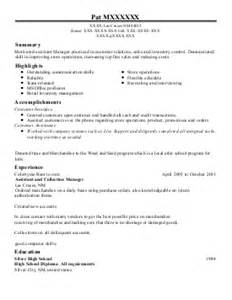 operations management resume exle safety services