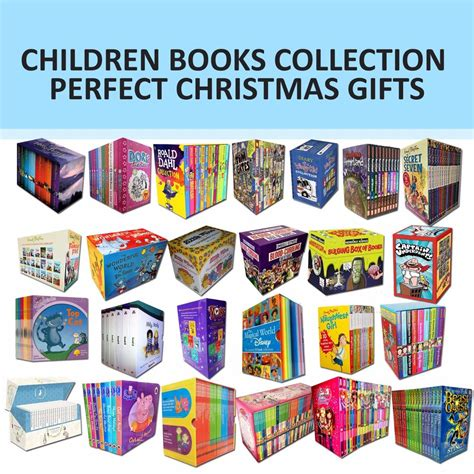 children books collection christmas gifts set harry potter