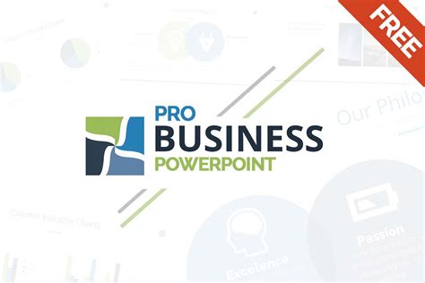 Free Business Powerpoint Template Ppt Pptx Download Presentation Template Powerpoint Free