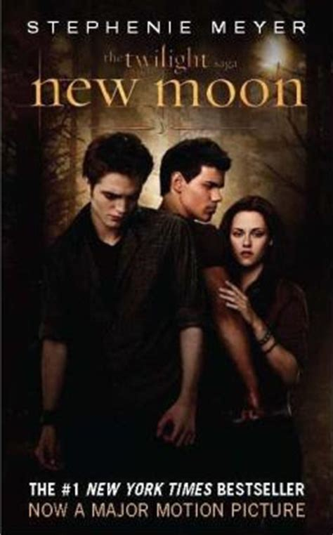 saga book two cover for the new moon book twilight series photo