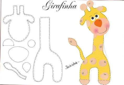 giraffe template templates pinterest