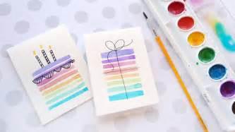 easy diy birthday cards using minimal supplies kwernerdesign