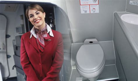 how to use bathroom in flight flight attendant reveals when the best time is to use the