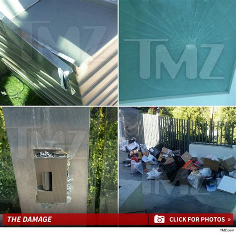 meek mill house meek mill it s just a little crack i didn t trash glass house tmz com
