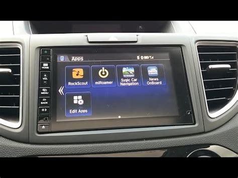 android apps   hondalink radio display connect mirrorlink navi  honda crv hrv fit