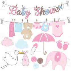 baby shower elements stock vector 517747120 istock