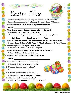 printable easter quiz fun family games has many fun printable games for your