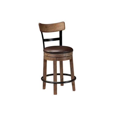 bar stool furniture ashley swivel bar stool