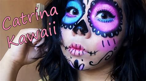 imagenes de maquillaje kawaii maquillaje catrina kawaii youtube