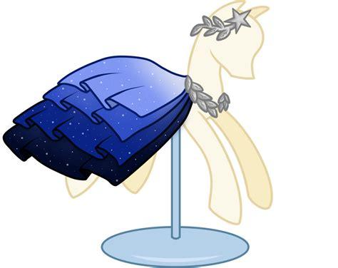 Lil Poni Blue Dress pony dress sky closed by nojiko444 on deviantart