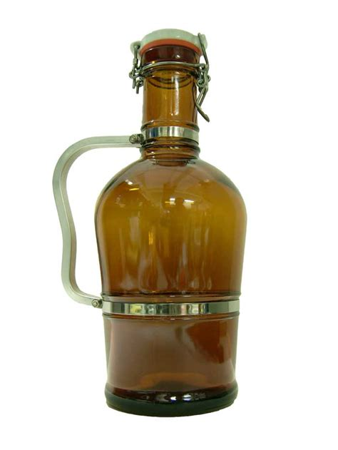 swing top growlers 2l brown swing top growler