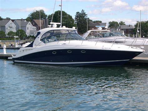 42 foot cruiser houseboat used sea ray 420 sundancer yachts for sale