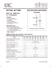 eic rectifier diodes eic byt56 series datasheets byt56a byt56g byt56m byt56d byt56j byt56b byt56k datasheet