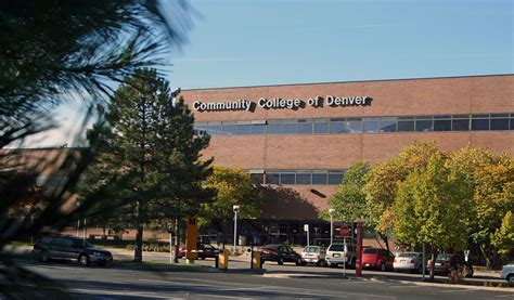 Community College Search Community College Of Denver