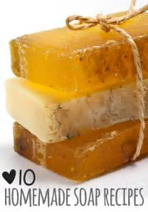 Handmade Soap Recipes - 10 soap recipes soaps