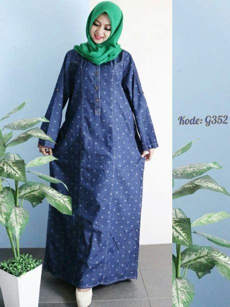 Dress Saku Jumbo Bigsize gamis jumbo polkadot g352 baju style ootd