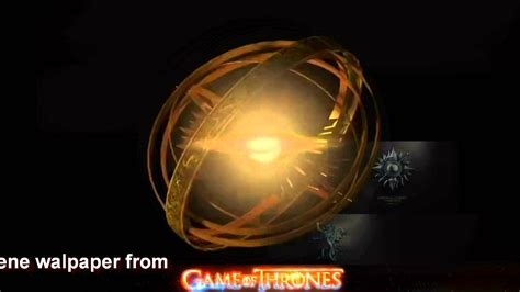 animated wallpaper game of thrones game of thrones animated wallpaper dreamscene youtube