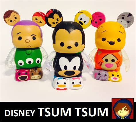 Custom Mickey N Friends Tsum Collection we had wondered when the worlds of disney tsum tsum and vinylmations would collide 3 custom
