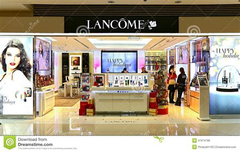 Hair Care Store In lancome care products outlet editorial photo