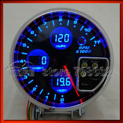 5 In 1 R by Special Offer Original Logo Blue Lcd 5 Quot 4 In 1 Auto