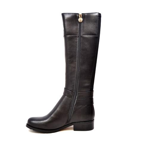 solemani s gabi x slim 12 13 calf black leather boot