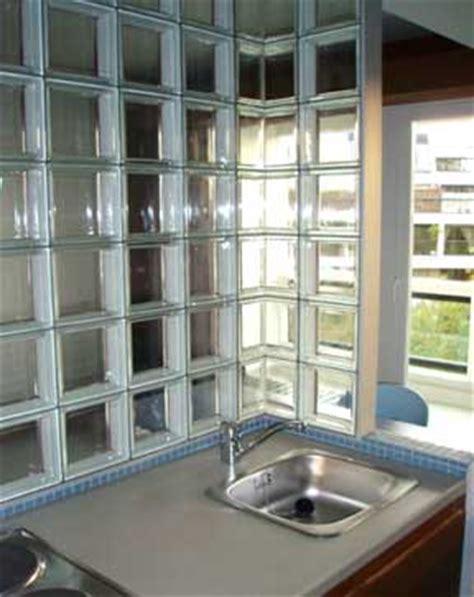 brique de verre cuisine