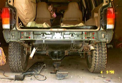 Jeep Rear Bumper Removal America Tomken Machines Rear Bumper For 1997 And