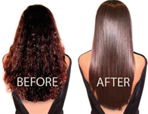 haircut before after rebonding how to straighten hair