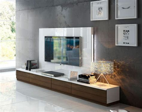 modern tv wall units uk fenicia modern 4 drawer tv unit and back panel with lighting