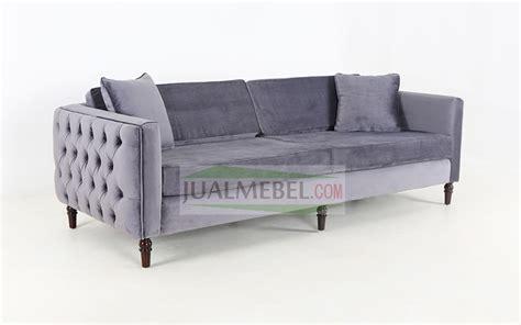 Sofa Kayu Solid sofa klasik modern seri jogja 3 seat harga murah jual