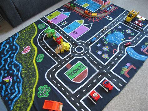 kid play car little ladybird making a children s car mat