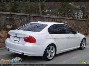 2009 bmw 3 series 335i sedan alpine white black photo 3