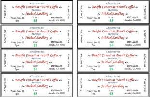 free template for tickets to events generic event ticket templates formal word templates