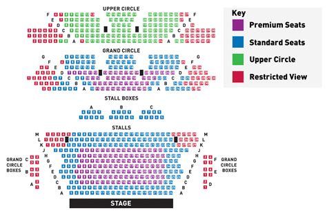 lyceum theatre floor plan seating plan the lyceum royal lyceum theatre edinburgh