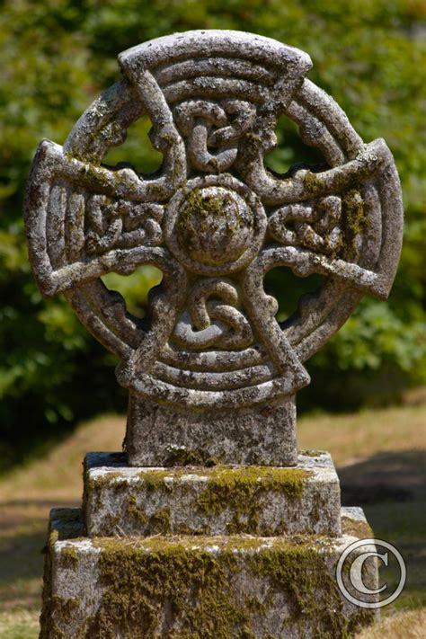 celtic cross lanhydrock cornwall photography