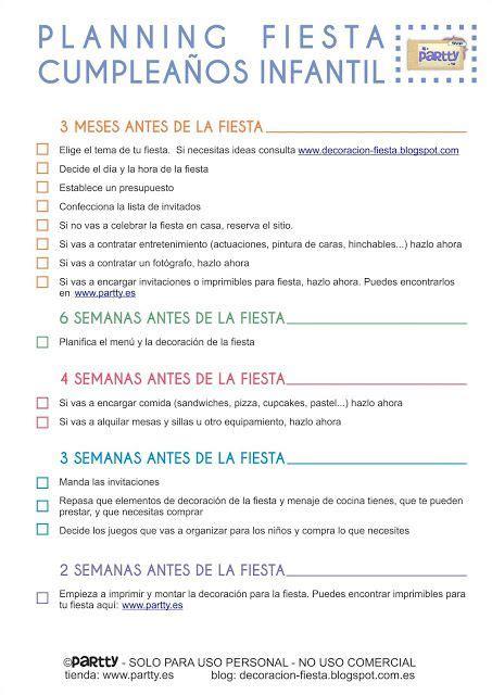 Ning Para Fiesta Infantil Free Printables