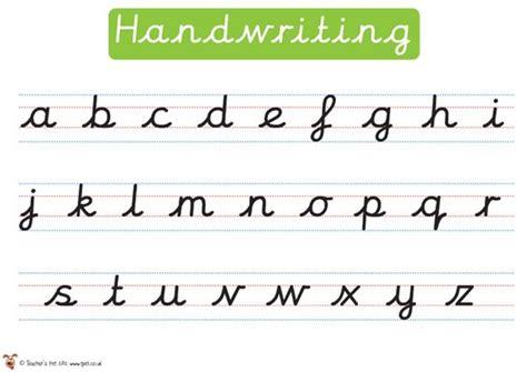 teaching handwriting ks2 s pet displays 187 handwriting poster 187 free