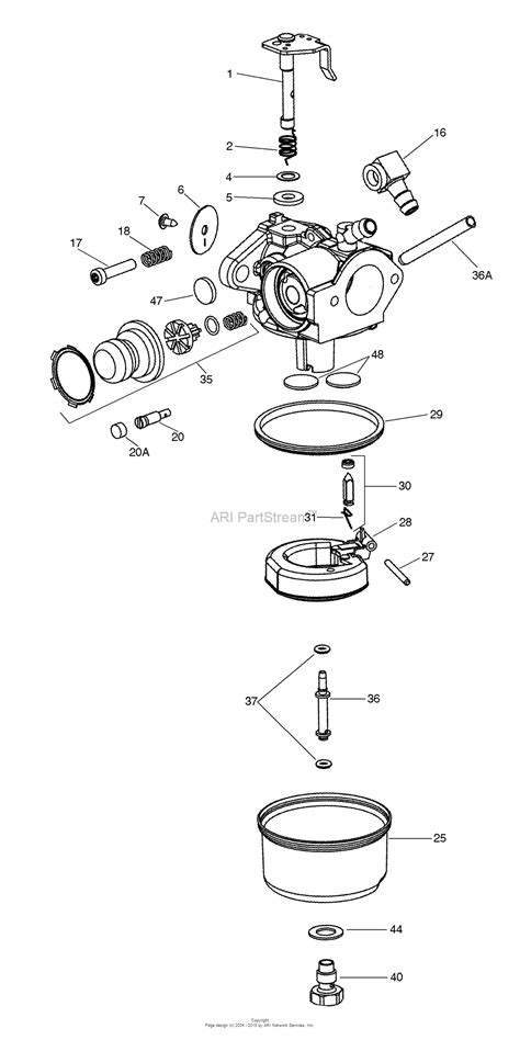 s s carb parts diagram tecumseh tec 640350 parts diagram for carburetor