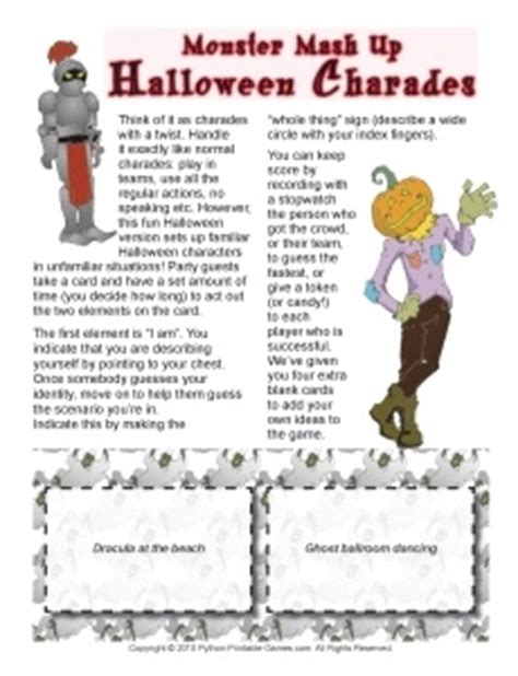 free halloween printable games for adults printable halloween party games for teens kids and adults