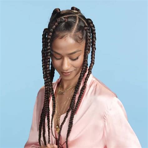 jumbo braids hairstyles 42 chunky cool jumbo box braids styles in every length