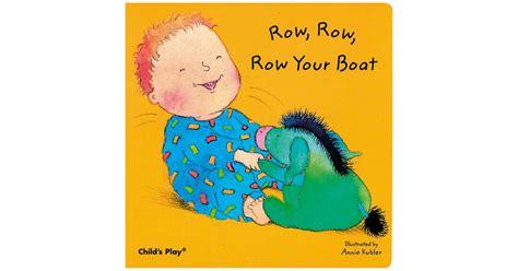 whereã s your hair books row row row your boat board book cpy9780859536585