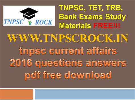 Pdf Answer Awakening Stepping Authenticity by Tnpsc Exams Current Affairs 2016 Questions Answers Pdf