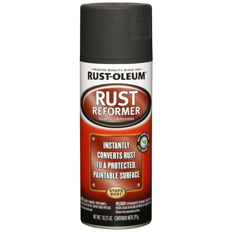 Rust Oleum Automotive 10.25 oz. Rust Reformer Spray Paint
