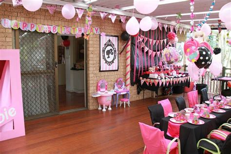 barbie themed birthday party barbie birthday party craft ideas margusriga baby party